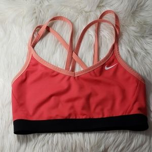 Nike dri-fit sports bra size Lg